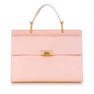 Balenciaga Cartella rosa chiaro Pelle