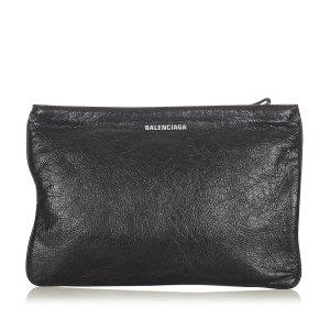 Balenciaga Borsa clutch nero Pelle