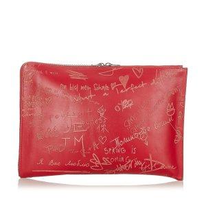 Balenciaga Borsa clutch rosso Pelle