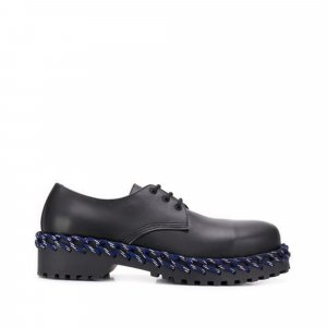 Balenciaga Leather Derby Shoes