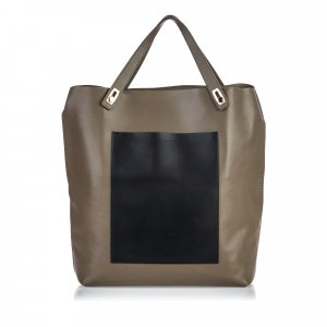 Balenciaga Leather Pocket Tote Bag