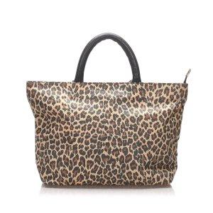 Balenciaga Leopard Tote Bag