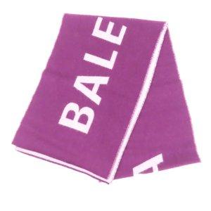 Balenciaga Sjaal paars Wol