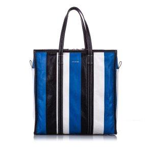 Balenciaga Torebka typu tote niebieski Skóra