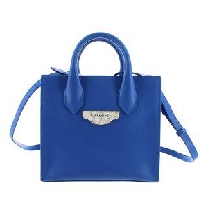 Balenciaga Satchel blue leather
