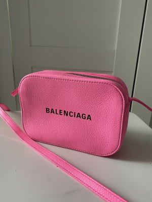 Balenciaga Crossbody bag pink-neon pink leather