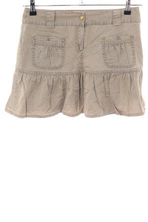 Balenciaga Mini-jupe blanc cassé style décontracté