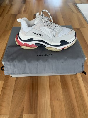 Balenciaga Lace-Up Sneaker multicolored