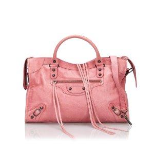 Balenciaga Sacoche rosé cuir