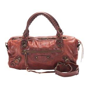 Balenciaga Satchel brown leather