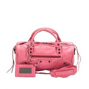 Balenciaga Satchel pink leather