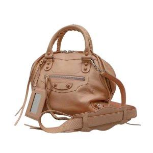 Balenciaga Satchel beige leather