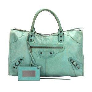 Balenciaga Handbag light blue leather