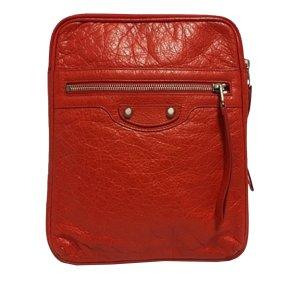 Balenciaga Bolso de mano rojo Cuero
