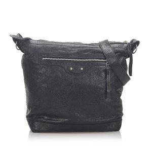 Balenciaga Crossbody bag black leather