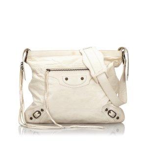 Balenciaga Crossbody bag white leather