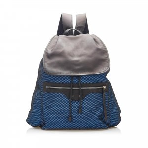 Balenciaga Backpack blue leather