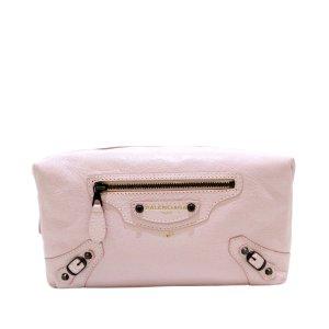 Balenciaga Make-up Kit light pink leather