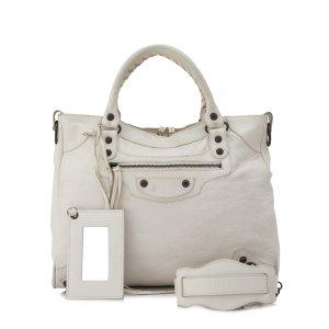 Balenciaga Sacoche blanc cuir