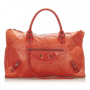 Balenciaga Handbag red leather