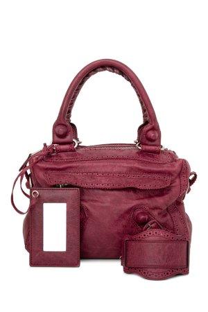 Balenciaga Sacoche rouge foncé cuir