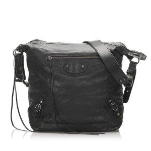 Balenciaga Motocross Day Leather Crossbody Bag