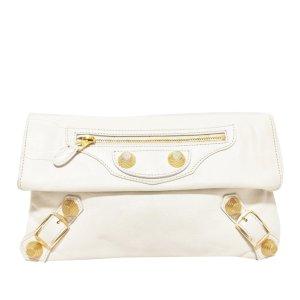 Balenciaga Borsa clutch bianco Pelle