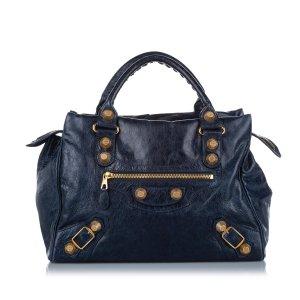 Balenciaga Handbag blue leather