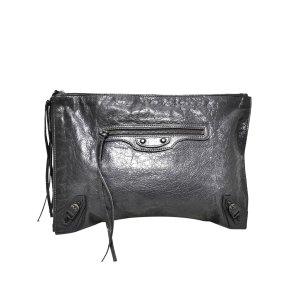 Balenciaga Bolso de mano negro Cuero