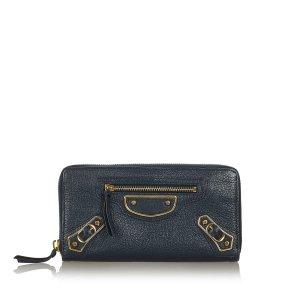 Balenciaga Wallet black leather