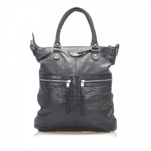 Balenciaga Satchel black leather