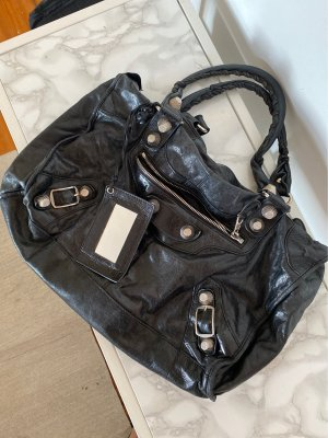 Balenciaga College Bag black leather