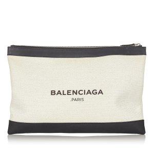 Balenciaga Clutch white