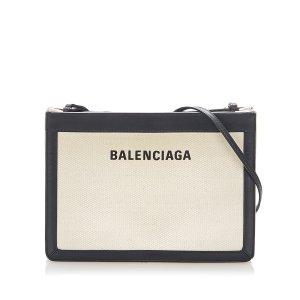 Balenciaga Bandolera negro Cuero