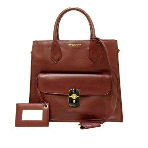 Balenciaga Satchel bordeaux leather