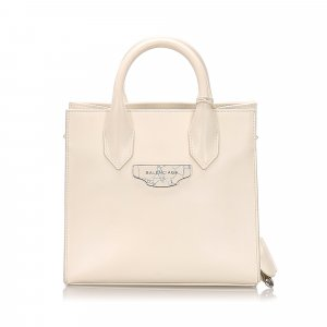 Balenciaga Padlock All Afternoon Satchel