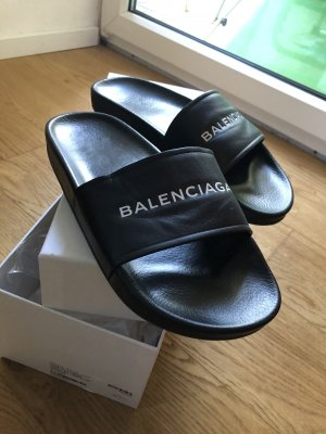 Balenciaga Pool Slider black