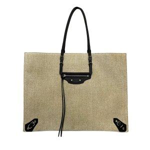 Balenciaga Papier A6 Canvas Tote Bag