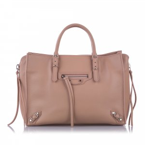 Balenciaga Satchel light pink leather