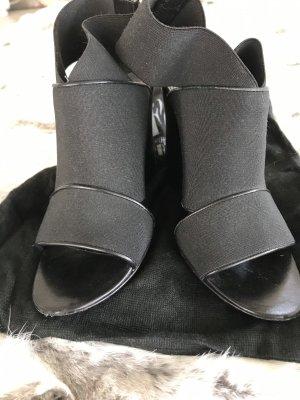 Balenciaga Plateauzool sandalen zwart