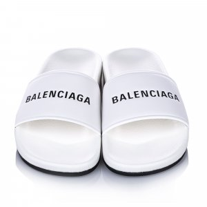 Balenciaga High-Heeled Sandals white