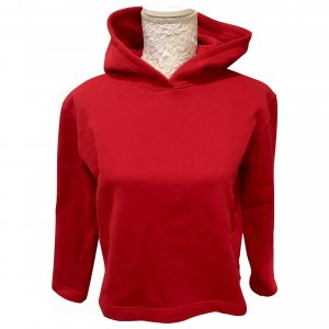 Balenciaga Hooded Sweater red