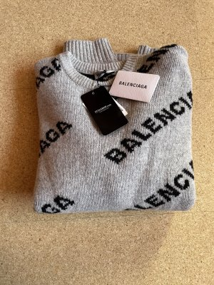 Balenciaga Knitted Sweater multicolored