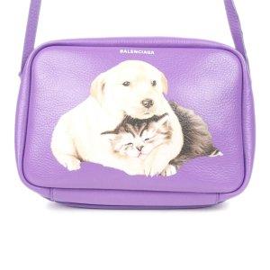 Balenciaga Crossbody bag purple leather