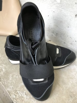 Balenciaga Scarpa stringata nero-bianco