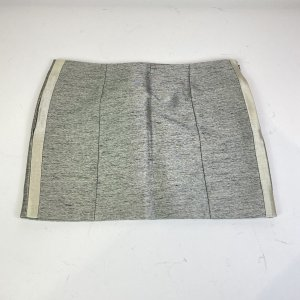 Balenciaga Minifalda blanco-gris claro