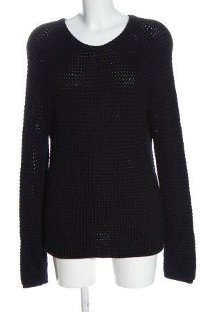 Balenciaga Maglione girocollo nero stile casual