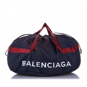 Balenciaga S Wheel Everyday Nylon Travel Bag