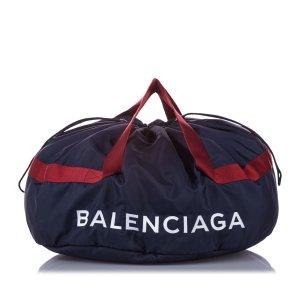 Balenciaga Sac de voyage noir nylon