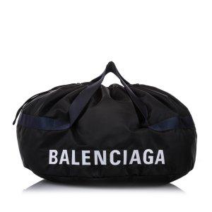 Balenciaga Borsa da viaggio nero Nylon